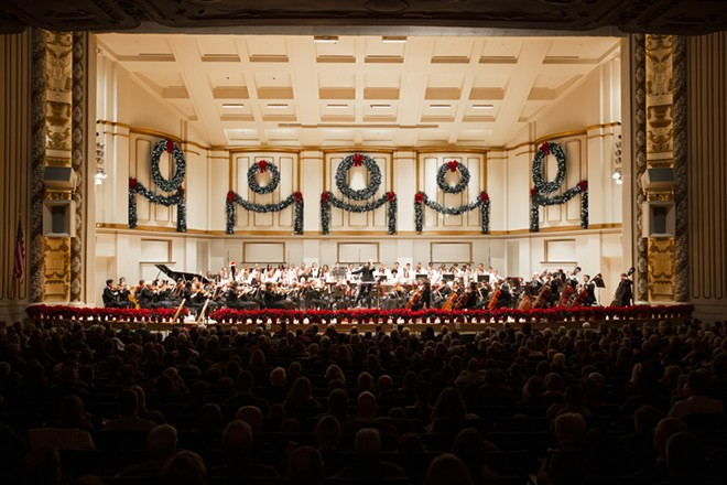 Get pumped for the holiday season. - COURTESY ST. LOUIS SYMPHONY ORCHESTRA