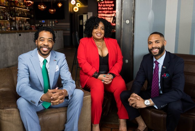 BRW founders Derek Robinson, Falayn Ferrell and Warren Luckett are excited to celebrate St. Louis' Black-owned restaurants this weekend. - COURTESY OF BLACK RESTAURANT WEEK, LLC.