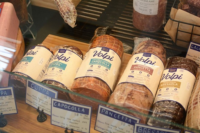 Volpi Foods is known for its prosciutto, coppa, pancetta and salume. - ANDY PAULISSEN