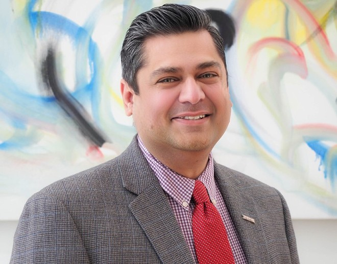 Dr. Faisal Khan, acting director of the St. Louis County Department of Health. - ST. LOUIS COUNTY