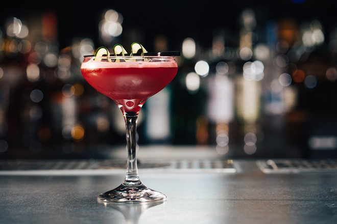 The cocktails at Brennan's are legendary. - R.J. HARTBECK