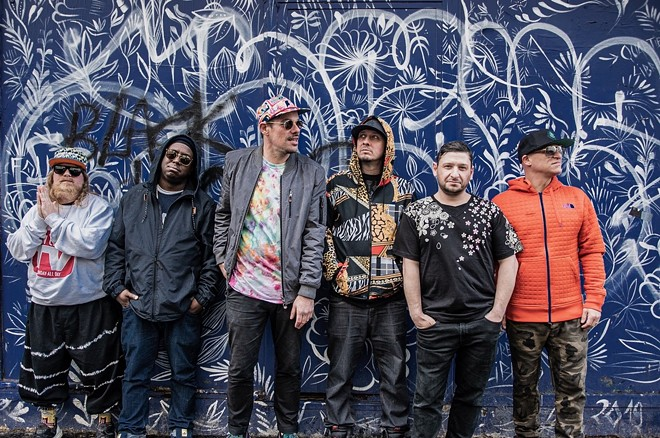 Lettuce is one band set to take the stage at The Lot on The Landing, a new concert series by Jamo Presents. - COURTESY  JAY SANSONE, HUMAN BEING MEDIA