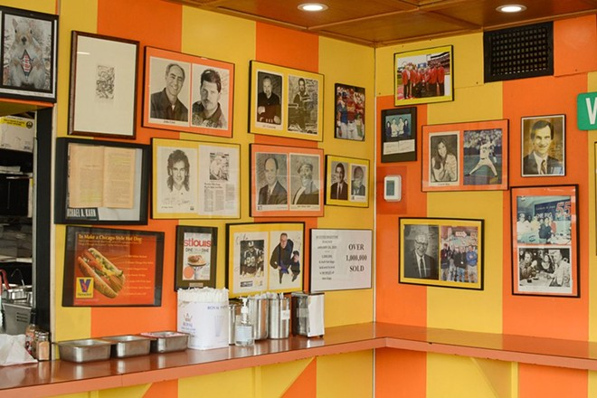The photos on the walls are a visual representation of the restaurant's storied history. - ANDY PAULISSEN