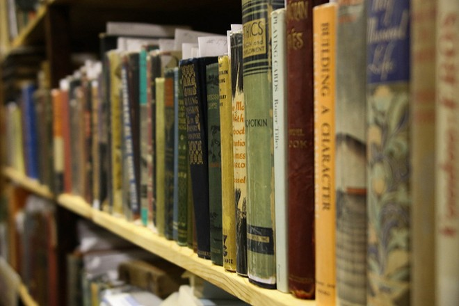Go get your used books while they're hot. - PHOTO COURTESY OF FLICKR / PAUL SABLEMAN