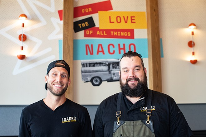 Co-owner Brad Merten and chef Daniel Sammons. - MABEL SUEN