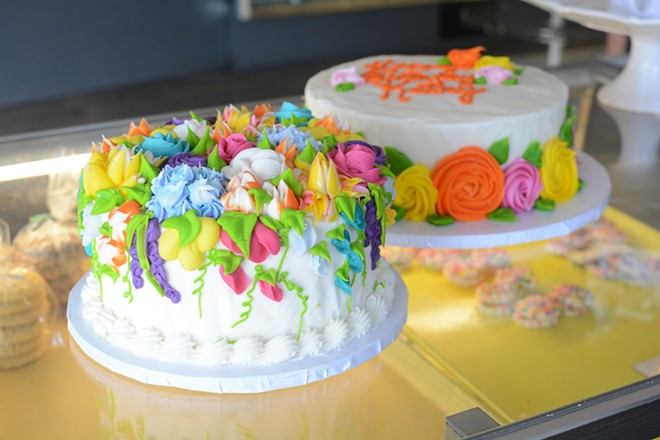 Decorated cakes have found their place among Federhofer's classic offerings. - ANDY PAULISSEN