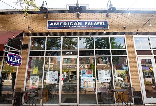 American Falafel opened during the pandemic in the Delmar Loop. - MABEL SUEN