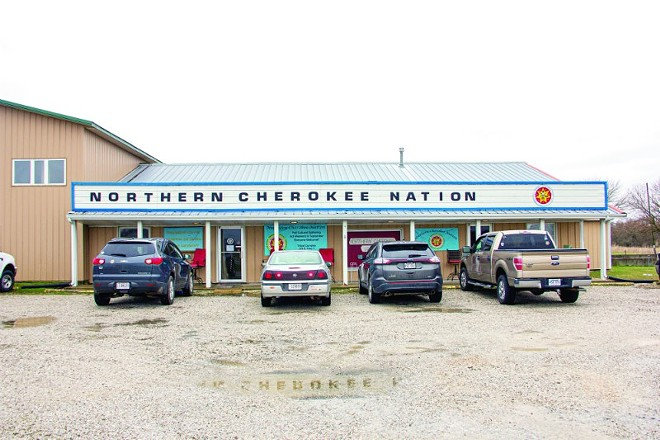 The Clinton, Missouri-based headquarters of the Northern Cherokee Nation. - DANNY WICENTOWSKI