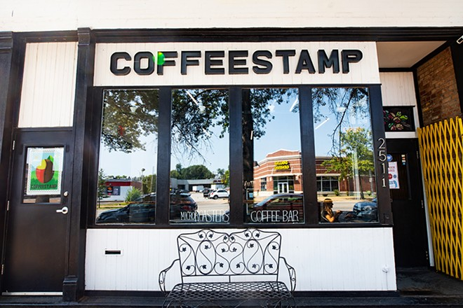 The coffee shop part of the business has only grown through the pandemic. - MABEL SUEN