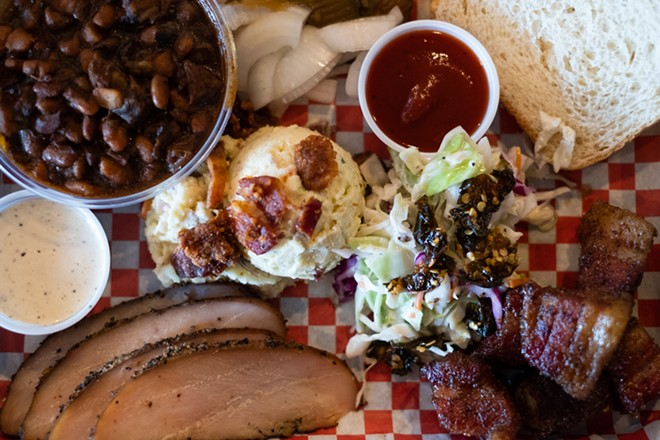 A selection of dishes from Navin's BBQ. - PHUONG BUI