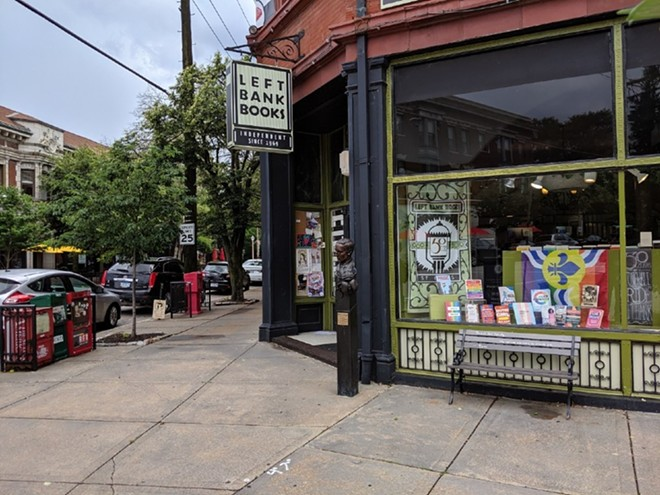 Left Bank Books, located between McPherson and Euclid avenues, is hosting several events in October. - JOSHUA PHELPS