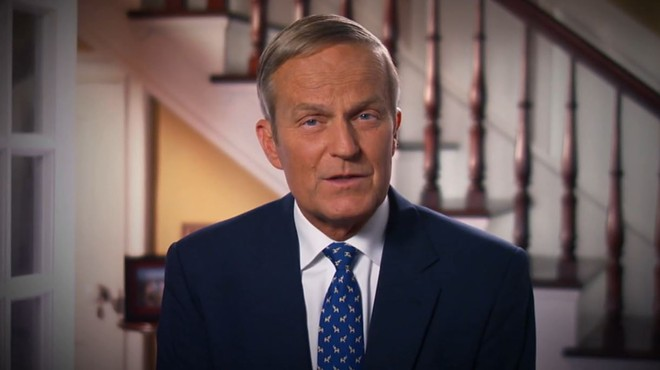 """Todd Akin, a former Missouri lawmaker and politician, shown here in his (later-retracted) apology for his """"legitimate rape"""" comments in 2012. - SCREENSHOT VIA YOUTUBE"""
