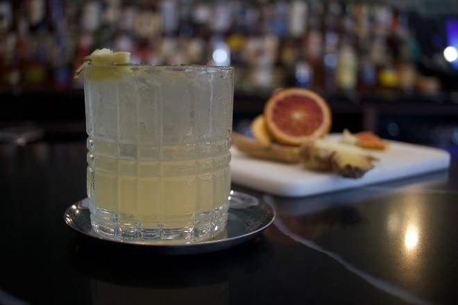 The London Fog is one of Commonwealth's signature cocktails. - CHERYL BAEHR