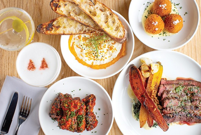 Little Fox is one of the country's most exciting restaurants, says the New York Times. - MABEL SUEN