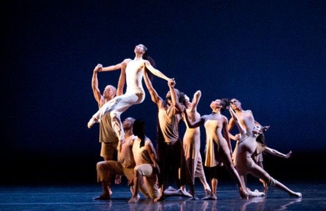 Last year's New Dance Horizons IV celebrated St. Louis' legendary black artists. - COURTESY OF DANCE ST. LOUIS