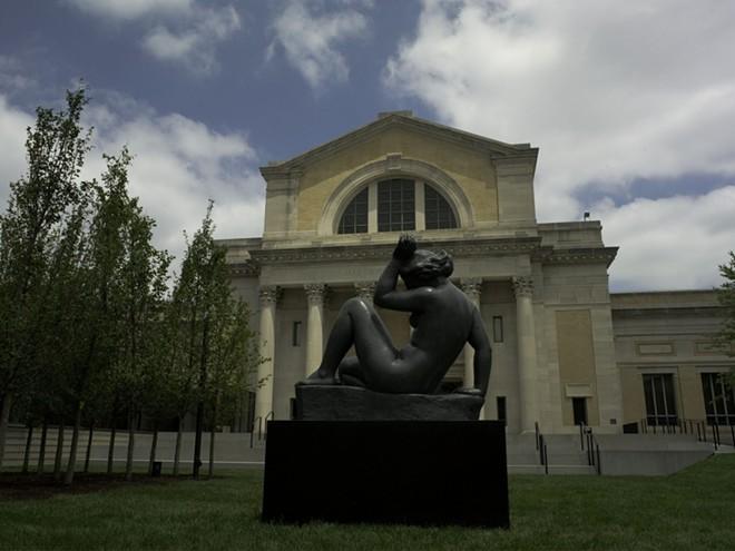 The Saint Louis Art Museum sculpture garden.