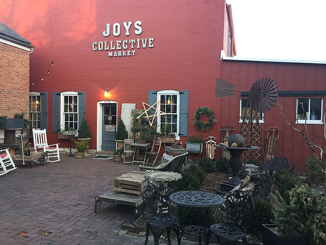Antiques can be found at Joy's Collective Market. - PHOTO BY KEVIN KORINEK