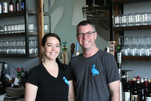 Owners Chris and Karmen Rayburn - PHOTO BY JOHNNY FUGITT