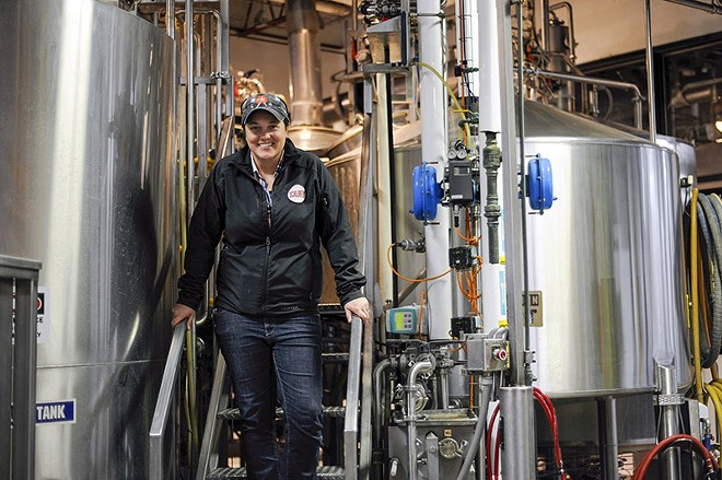 Emily Parker is Schlafly's head of brewing operations. - PHOTO BY KELLY GLUECK