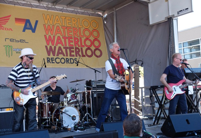 Modern English at Waterloo Records - DANA PLONKA