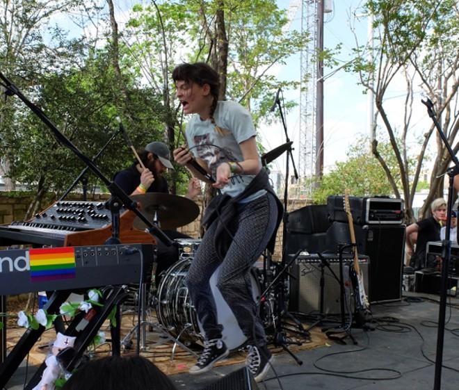 Cherry Glazerr at Pitchfork Day Party - DANA PLONKA