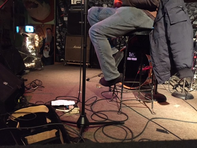 More Lou Barlow - PHOTO BY JAIME LEES