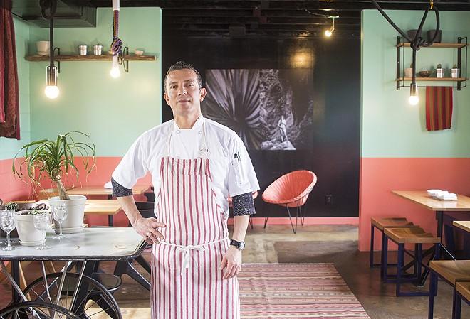Chef Tello Carreon. - MABEL SUEN