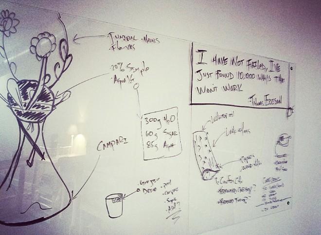 Idea board - JOE CLARKE