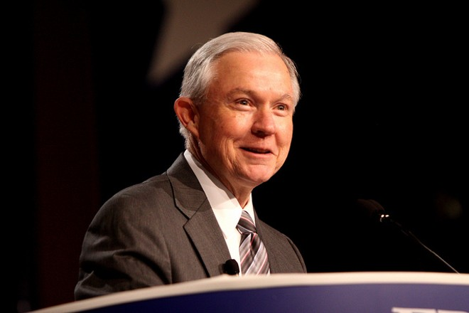 U.S. Attorney General Jeff Sessions will speak on Friday in St. Louis. - PHOTO COURTESY OF FLICKR/GAGE SKIDMORE
