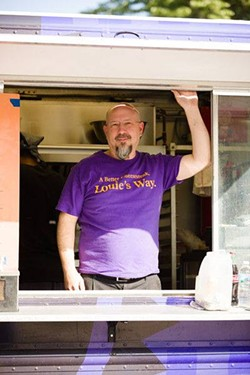 "Steak Louie Chef Paul Listenberger plans to open a ""food truck court"" in south St. Louis. - IMAGE VIA STEAK LOUIE"