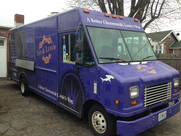 The owner of Steak Louie is trying to create a food truck court in Tower Grove South. - PHOTO BY DOYLE MURPHY