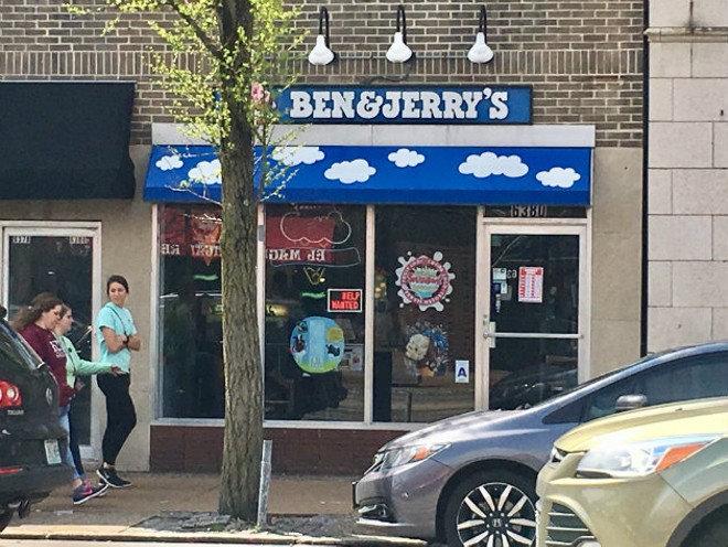 The Ben & Jerry's on the Delmar Loop will soon be full of hungry (and cheap) ice cream enthusiasts. - ELIZABETH SEMKO
