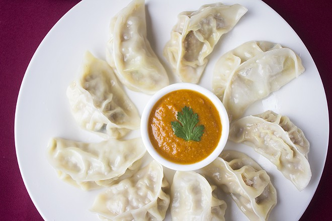 Himalayan momo are available steamed or fried. - MABEL SUEN