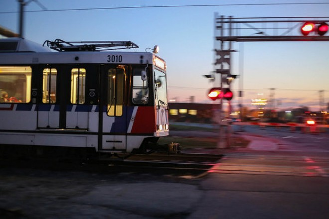 A man was shot dead aboard a MetroLink train late Monday night. - PHOTO COURTESY OF FLICKR / PAUL SABLEMAN.