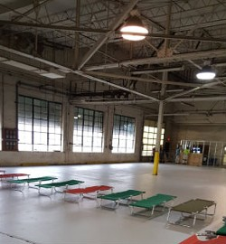 The city argues that the warehouse is a clean, safe, lawful shelter for the men in need. - COURTESY OF ST. LOUIS CITY