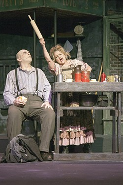 Lavonne Byers makes the worst pies in London, but Jonathan Hey only thinks of revenge. - PHOTO BY JOHN LAMB