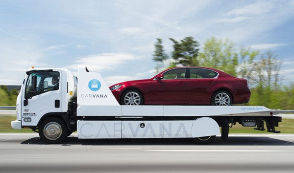 COURTESY OF CARVANA