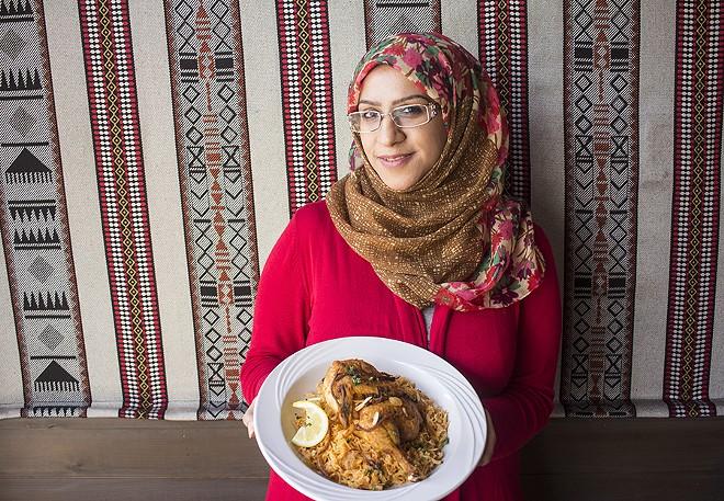 Chef/owner Fedaa Alsadeq. - PHOTO BY MABEL SUEN