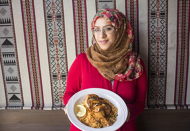Chef/owner Fedaa Alsadeq. - PHOTO BY MABEL SUEN