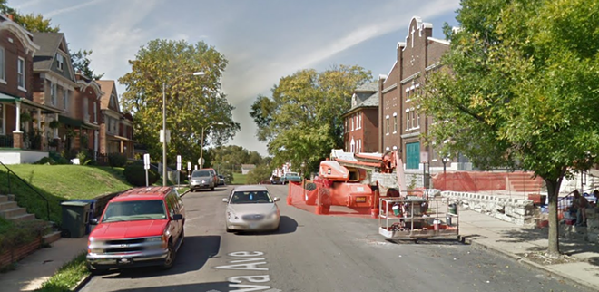 The shooting took place in the city's northwest side. - IMAGE VIA GOOGLE EARTH