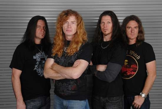 Megadeth will perform at the Family Arena on Friday, July 7. - PRESS PHOTO