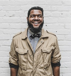 Soul singer Kenny DeShields will perform a new track at the show co-written with Holliday. - PHOTO BY TOM DAVIS