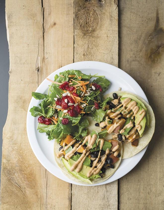 LuLu's: readers' choice for best vegetarian. - PHOTO BY JENNIFER SILVERBERG