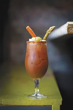 The Shack: readers' choice for best margarita. - COURTESY OF THE SHACK