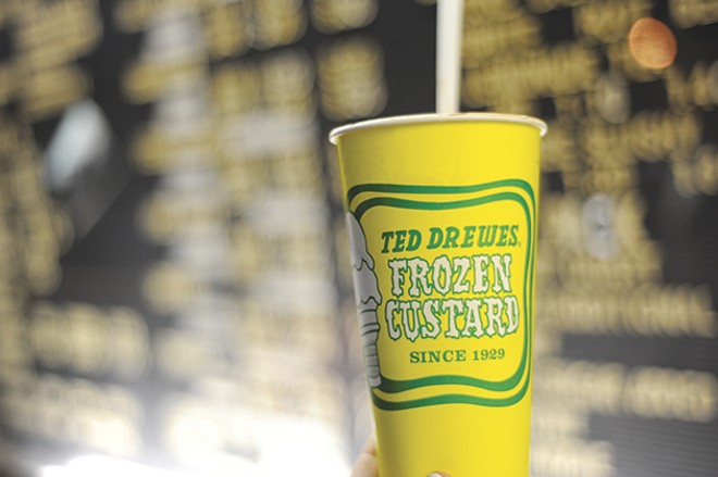 Ted Drewes: readers' choice for best ice cream. - PHOTO BY TED DREWES