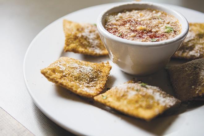 Anthonino's: readers' choice for best toasted ravioli. - PHOTO BY ERIC FRAZIER