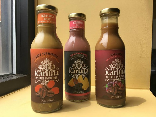 Karuna drinks are a St. Louis-based alternative. - KELLY GLUECK