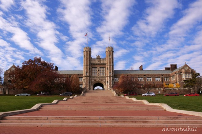Washington University St. Louis. - PHOTO COURTESY OF FLICKR / ASTAEBELL