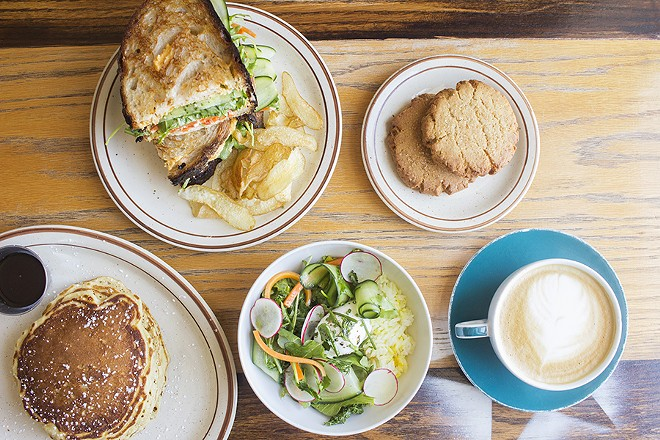 Highlights include peanut-butter cookies and pancakes in addition to rice bowls and sandwiches. - PHOTO BY MABEL SUEN