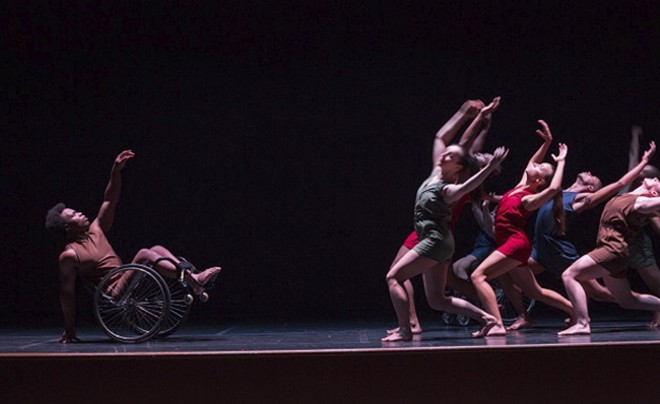 Dancing Wheels is one of the many companies performing at this weekend's Spring to Dance Festival - COURTESY OF DANCE ST. LOUIS